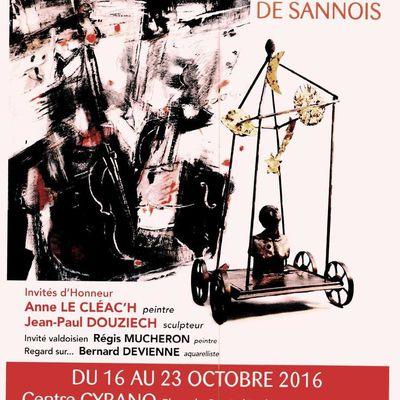 SALON D'AUTOMNE DU PETIT FORMAT, à Sannois (95)...j'y suis !