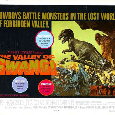THE VALLEY OF GWANGI - LA VALLÉE DE GWANGI -1969-