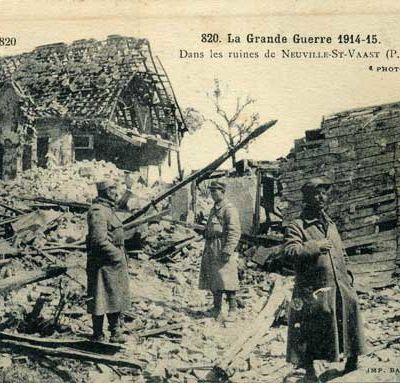 Vendredi 5 novembre 1915. Il y a eu échanges de coups