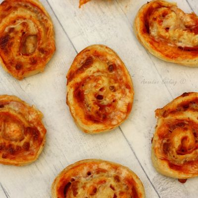 Pizza rolls, jambon - fromage