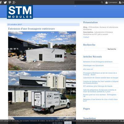 STM-modules -Bureaux et Laboratoires Modulaires