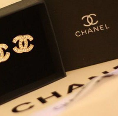 promotion boucle d'oreille chanel strass