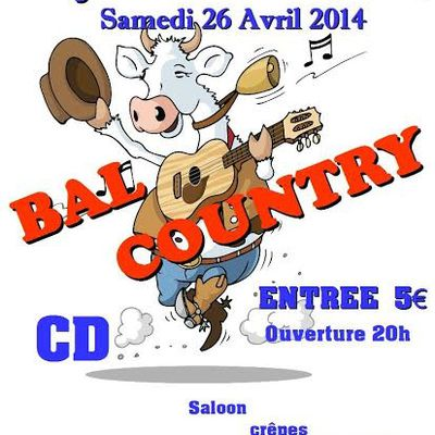 Bal country à Gujan - 26 avril