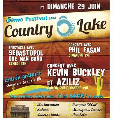 Country o lake - 28 et 29 juin - Gujan Mestras