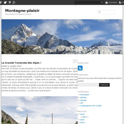 Montagne-plaisir