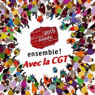 Bonne année 2015! Ensemble avec la CGT!