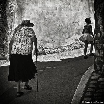"""""""Si jeunesse savait, si vieillesse pouvait"""" - Provence - France"""