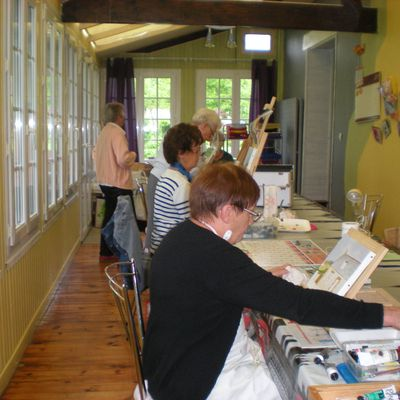 atelier peinture du 1 er juin