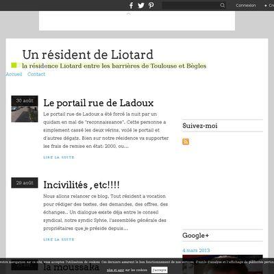 Des résidents de Liotard