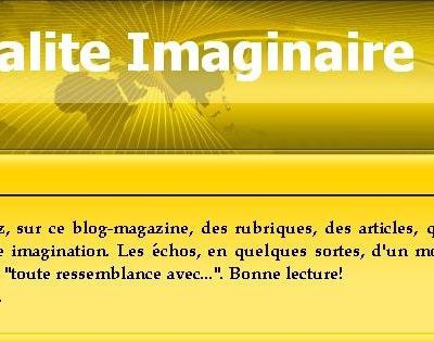 Actualité Imaginaire / imaginary News