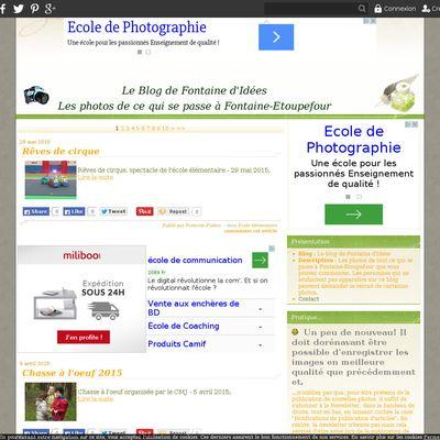 Le blog de Fontaine d'Idées