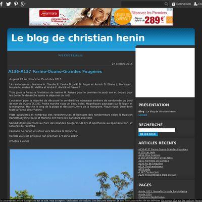 Le blog de christian henin