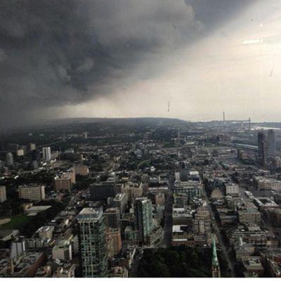 Toronto sous les eaux 7 juillet