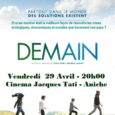 Projection Film DEMAIN.