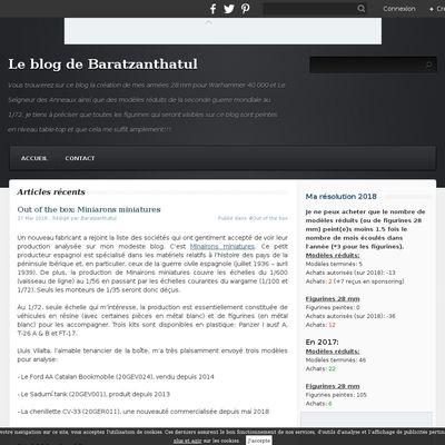 Le blog de Baratzanthatul