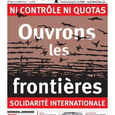 CONTRE L'EUROPE FORTERESSE, SOLIDARITE INTERNATIONALE !
