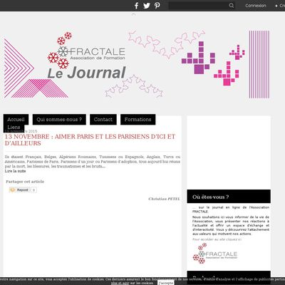 Le journal de FRACTALE