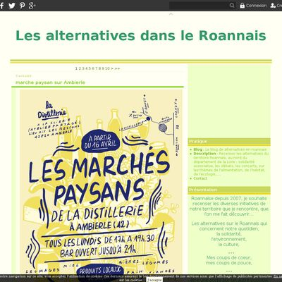 Le blog de alternatives-en-roannais