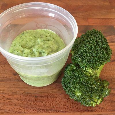 Purée brocoli - pomme de terre pour bébé