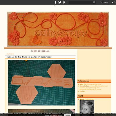 Le blog de cathyscraps