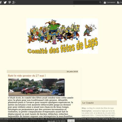 Le blog du comité des fêtes de Laps