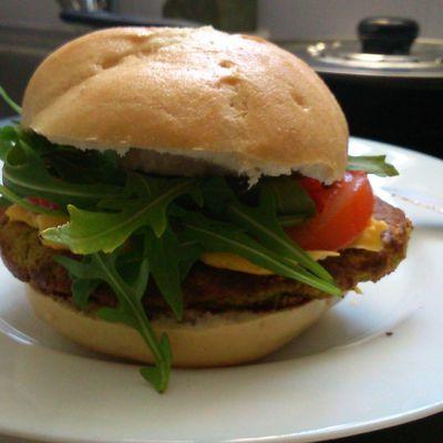 Hamburgers végétarien et sans gluten