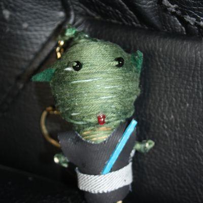 Maître Yoda en porte-clé...