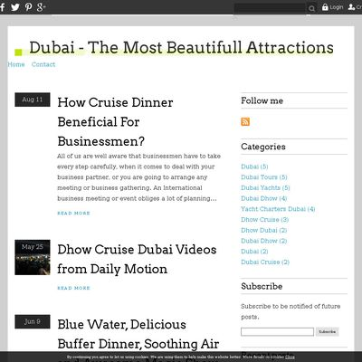 Dubai - The Most Beautifull Attractions in The World