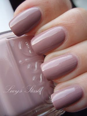 Essie Fall 2011: Brand New Bag Collection -  Lady Like review and swatches :)