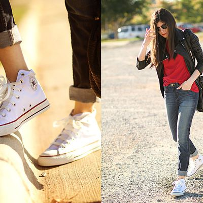 How to Wear Hi Top Converse