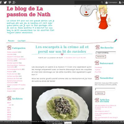 Le blog de La passion de Nath