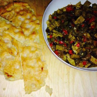 Spezzatino speziato di Seitan e verdure