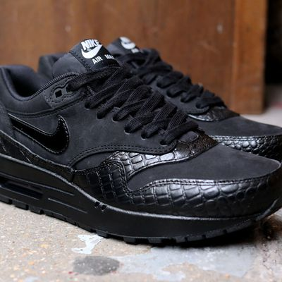 "Nike Wmns Air Max 1 PRM ""Black Croc"""