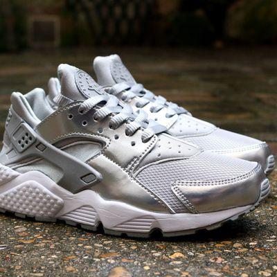 """Nike Wmns Air Huarache Prm """"Metallic Silver"""""""
