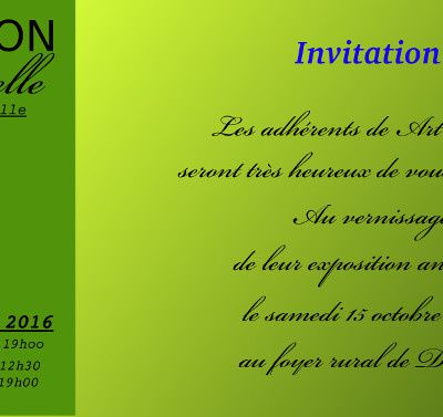 "Exposition ""Art' Douelle"",Photos ,Tableaux,....."