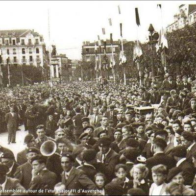 Il y a 74 ans l'Auvergne débutait sa libération le 18 Aout 1944