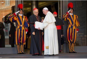 Présentation de l'Instrumentum Laboris du Synode sur la famille