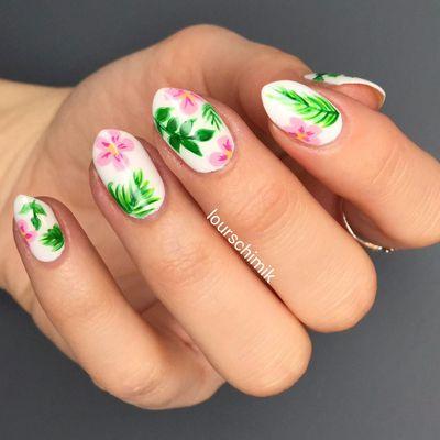 nail art jungle - tuto inside