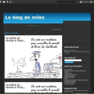 Le blog de miles