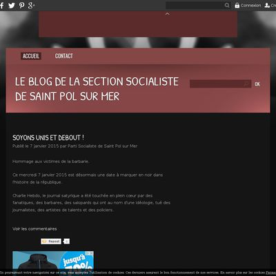 Le blog de la Section Socialiste de Saint Pol sur Mer