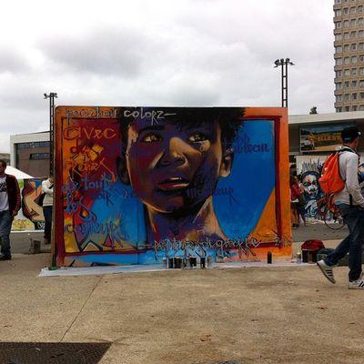 Jam Roazhon Colorz / 10 ans du dispositif graff Rennes / CRIJ bretagne