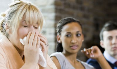 Apparently 90 Percent Of Us Show Up To Work Sick