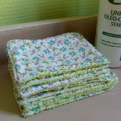 Lingettes lavables pour bébé et maman