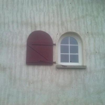 Fenêtre cintrée (arrondie)
