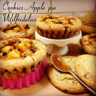 Cookies apple pie