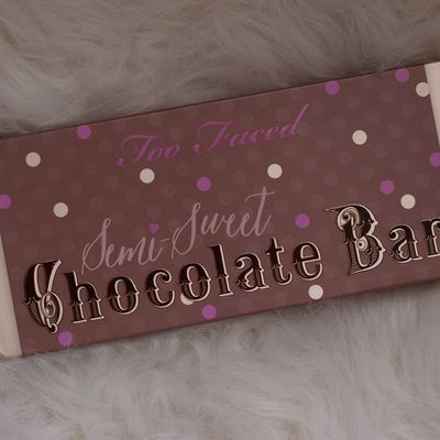 Coup de coeur du mois : Semi-Sweet Chocolate Bar de Too Faced