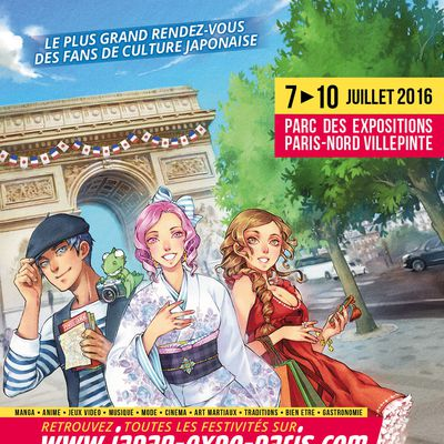 [EVENEMENT] Japan Expo 17ème Impact du 7 au 10 Juillet 2016