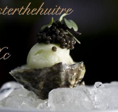 "Xavier Caille ""Oyster the huitre Paris"""