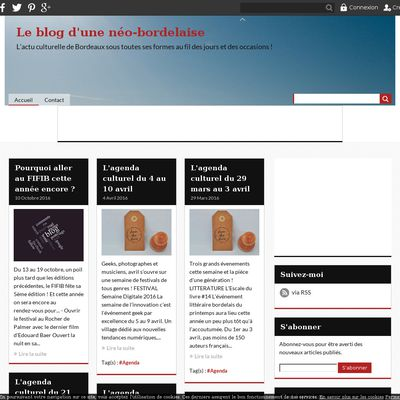 Le blog d'une néo-bordelaise