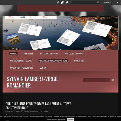 Sylvain Lambert-Virgili Romancier